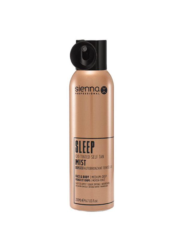SiennaX Sleep Q10 Tinted Self Tan Mist 200 ml